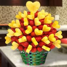 fruits arrangements strawberry pineapple fruit arrangements edible