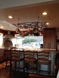 kitchen island with pot rack kitchen island lighting with pot rack kitchen island