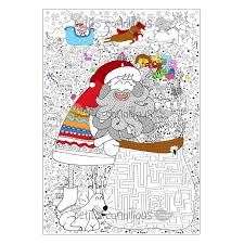 Un coloriage géant pour Noël
