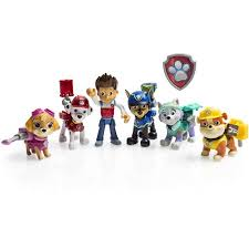 paw patrol action pup 6 pack walmart exclusive gifts