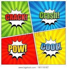 comic book page template colorful vector u0026 photo bigstock