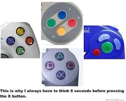 Button Meme - x button problems weknowmemes