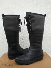 ugg s belcloud boots ugg australia s leather us size 12 ebay