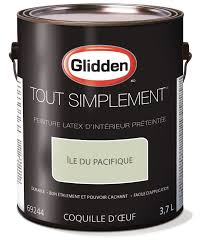 glidden simply stated interior paint pre tinted pacific khaki