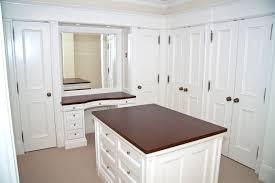 magnificent walk in closet layout ideas with dark cream wooden