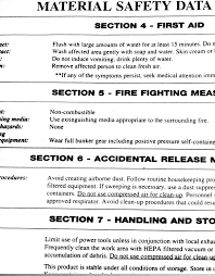 safety data sheet wikipedia