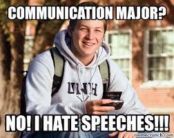 Communication Major Meme - major