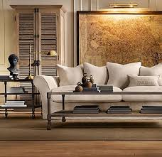 Restoration Hardware Living Rooms Restoration Hardware Edmonton Luxury Interior Design