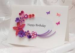 create a birthday card service provider from new delhi