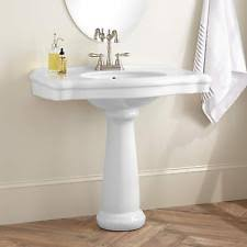 Foremost Series 1920 Pedestal Sink Pedestal Sink Ebay