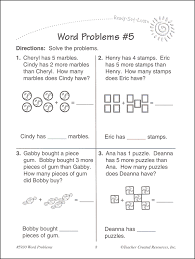 grade 1 math word problems worksheets word problems grade 1 ready set learn 051877 details