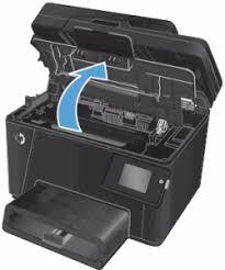 hp color laserjet m176n m177fw printers replacing the imaging