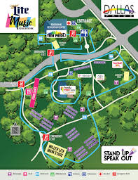 Map Dallas Dallaspride Festival Map And Vendor List Released