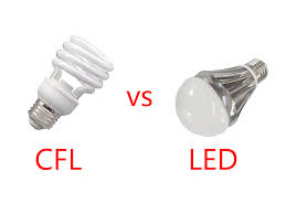 Led Versus Fluorescent Light Bulbs by Cfl Vs Led Which Is The Better Light For You To Use Geeky Pinas