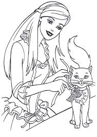 barbie coloring pages print free coloring pages wallpaper