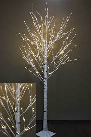 8 foot white birch tree 240 warm white led s from the light