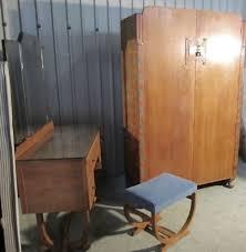 heals art deco limed oak bedroom suite 149183 sellingantiques