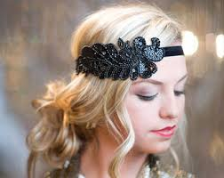 great gatsby hair accessories 1920s headband etsy