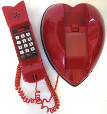 heart shaped items vintage kitsch cherry heart shaped telephone via etsy