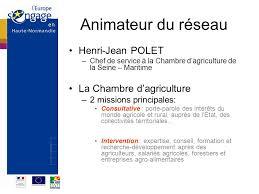 chambre agriculture haute normandie réseau rural de haute normandie ppt télécharger