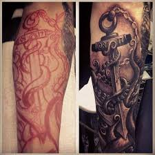 tattoo cover up on black skin 38 black anchor tattoos ideas
