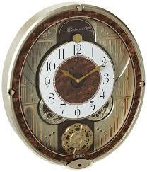 Weird Wall Clocks by Amazon Com Seiko Melodies In Motion Swarovski Crystallized Clock