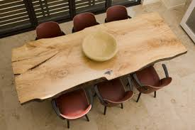 unfinished wood dining table rough cut unfinished wood tables diy reclaimed wood table you wish