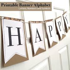 printable alphabet bunting banner 105 best printables letter banner images on pinterest xmas