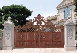 home gate design 2016 2016 china producer aluminum main gate design used aluminum gate