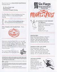 1996 fright fest at six flags great adventure