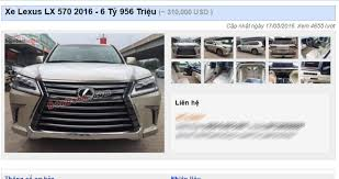 xe oto lexus lx 570 thuế sắp tăng lexus lx570 2016 nhập ngoài