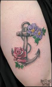 beautiful girly anchor tattoos pictures to pin on pinterest