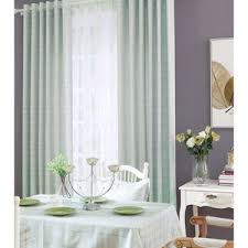 ivory yellow polyester striped jacquard modern curtains for living