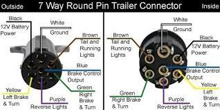 6 way trailer plug wire diagram way trailer wiring diagram with 6