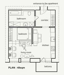 40 meters to feet living small with style 2 beautiful apartment plans under 500 square