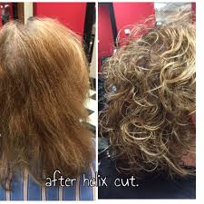 what are helix haircuts helix cut blow dry and style also includes elasticity treatment