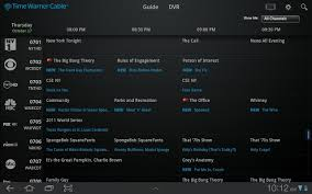 tv guide for android time warner cable releases official app makes your android tablet