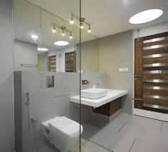 modern bathroom track lighting