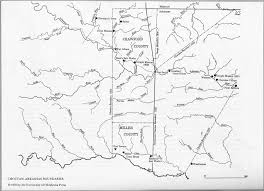 Oklahoma Counties Map Map Index Oklahoma Sarratt Sarrett Surratt Families Of America