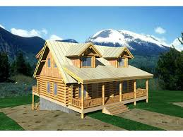 log cabin with loft floor plans stors mill log cabin home plan 088d 0025 house plans and more