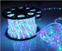 wholesale jcl 33ft 2 wire led rope lights multi color home