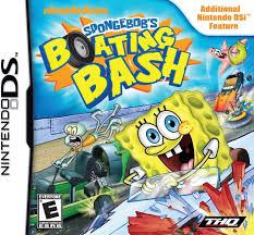 spongebob halloween background amazon com spongebob boating bash nintendo ds video games