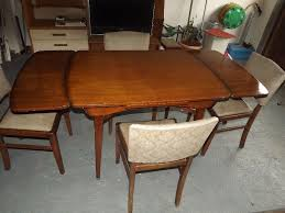1950 u0027s beautility extending dining table and 4 chairs all