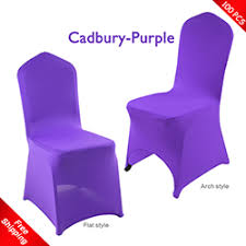 purple chair covers spandex chair cover for wedding stretch chair cover lycra chair