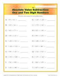 absolute value worksheets free worksheets library download and