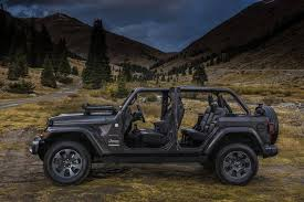 jeep wrangler 4 door top off 2018 jeep wrangler jl wrangler redesign cj pony parts
