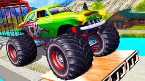 monster truck video game play monster truck hill racing android gameplay hd video youtube
