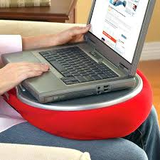 Laptop Desk With Cushion Bean Bag Table Laptop Pillow Tray Cushion Desk Cushioned