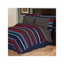 Mainstays Bedding Sets Son U0027s Bedroom Mainstays Blue Plaid Bed In A Bag Bedding Set