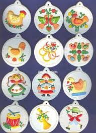 satsuma 12 days of cross stitch ornaments